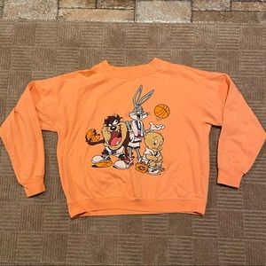 Looney tunes space jams vintage sweatshirt